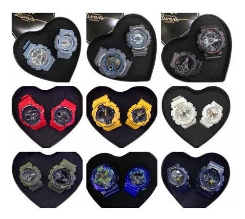 Reloj Casio G-shock Y Baby-g Para Hombre Y Mujer Parejas