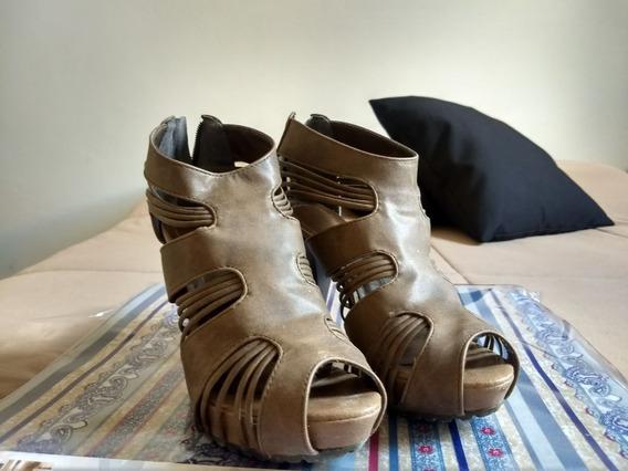 Sandalia Salto Alto