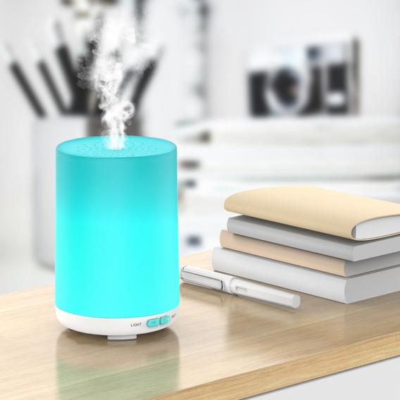 Difusor De Aroma / Difusor Ultrasonico Aromaterapia Luz Led