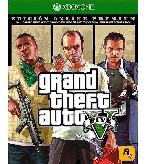 Grand Theft Auto V (gta 5) Premium Online Edition - Xbox One Midia Fisica Lacrado