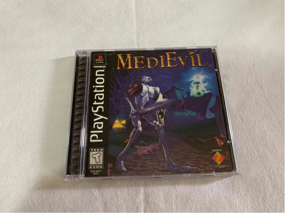 Medievil Ps1 Original Americano