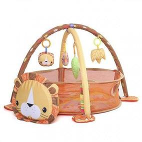 Tapete Atividades Piscina De Bolinhas Leão 3 Em 1 Color Baby