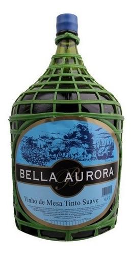 Vinho Tinto Suave Isabel/bordô 4,5 L - Bella Aurora
