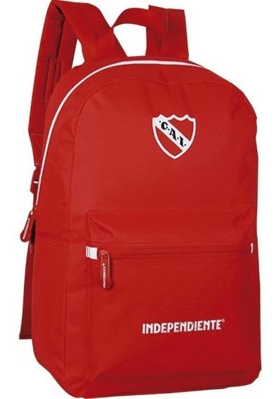 Mochila Independiente Original Licencia 17 In16 Mapleweb