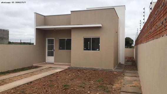 Casa Para Venda Em Cuiabá, Jardim Presidente, 2 Dormitórios, 1 Banheiro, 2 Vagas - 617_1-1522074