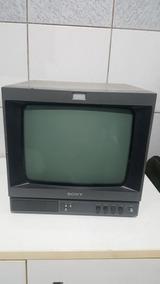 Monitor Sony Pvm 137 Preto E Branco