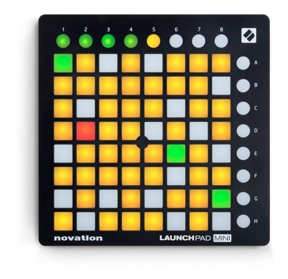 Pad Controladora Usb Launchpad Mini Mk2 - Novation