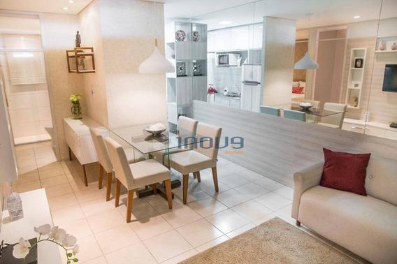Apartamento Com 2 Dormitórios À Venda, 48 M² Por R$ 128.100 - Araturi (jurema) - Caucaia/ce - Ap0483
