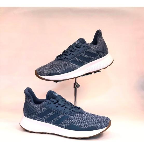 Tênis adidas Azul Duramo 9 Feminino Nova Coleção 20 - Lj Att