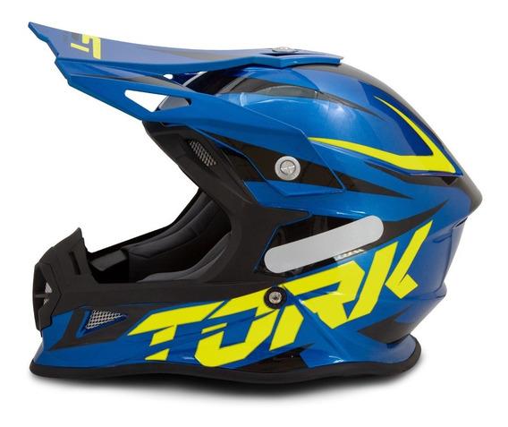 Capacete Motocross Fast Pro Tork Masculino Lançamento 2020