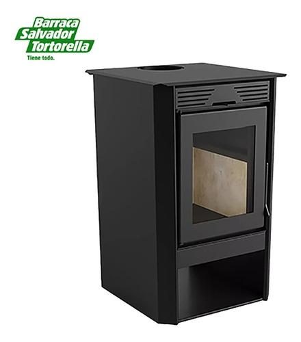 Imagen 1 de 5 de Calefactor A Leña Ecológico Doble Combustión 800gf