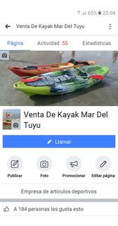 Escualo Kayak