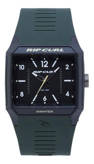 Relógio Rip Curl Rifles Analogue Verde Militar A3038