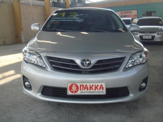 Toyota Corolla Xei 2012 Automatico Em Ótimo Estado !!!