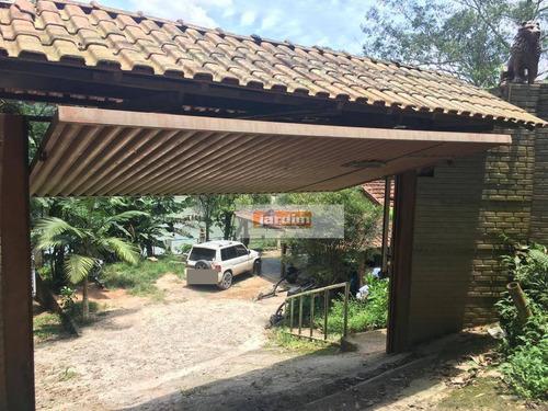 Chácara Com 3 Dormitórios À Venda, 697 M² Por R$ 600.000,00 - Riacho Grande - São Bernardo Do Campo/sp - Ch0109