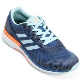 Tênis Mana Bounce 2 adidas Azul - 35 - Azul