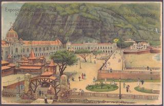 Exposição Nacional 1908 - Recanto Das Diversões - 13051922