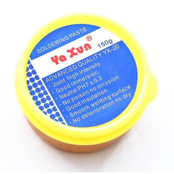 Fluxo Pasta De Solda Reball Smd Bga Yaxun 150g Yx20