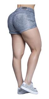 Lindo Short Prateado Pit Bull Jeans