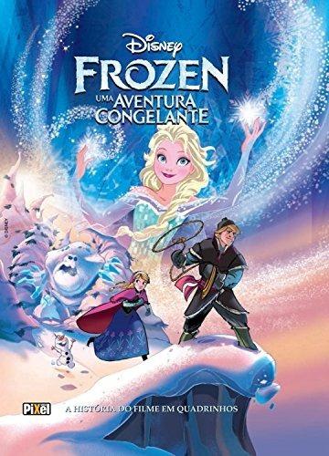 Coleção Hqs Disney - Frozen/tinkerbell/enrolados - 3 Volumes