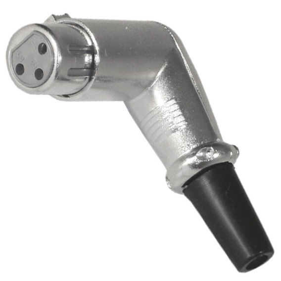 Conector Cannon Xlr Femea Cachimbo - Skc 037 Csr