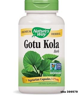Gotu Kola Centella Asiatica Vitalidad Circulacion 475 Mg W01