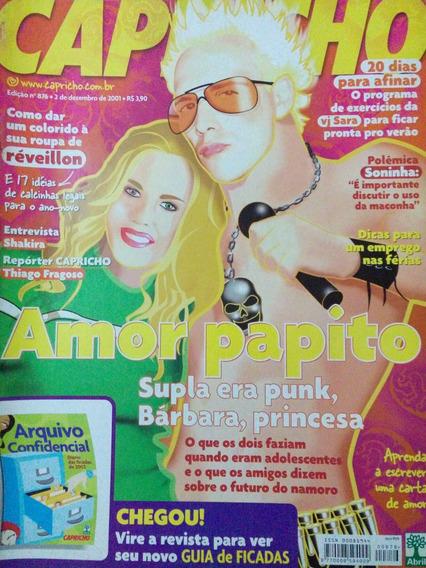 Revista Capricho - N.876 - Supla, Shakira, Bárbara Paz