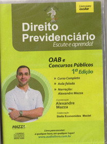 Cd Rom -direito Previdenciario - Autor Prof. Alexandre Maz