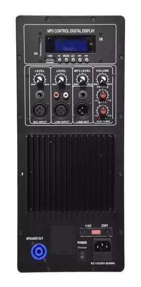Módulo Amplificador Para Bafle / Usb Fm Btooth 200w