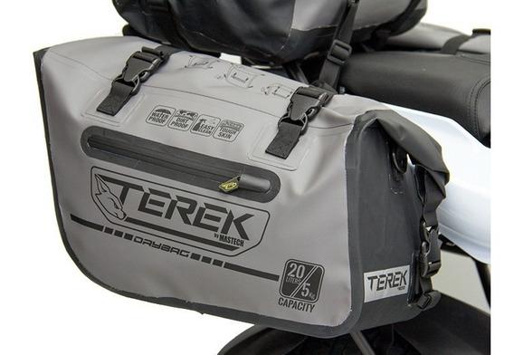Alforjas Para Moto Impermeables Terek 20 Lt Derecha + Izquie