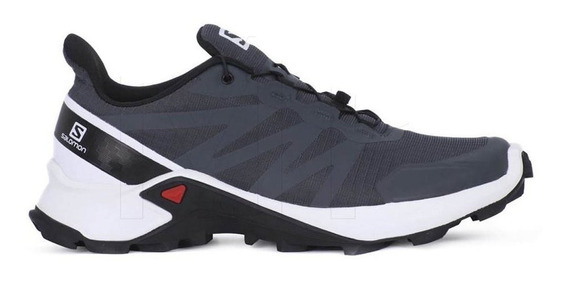 Zapatillas Mujer Salomon Supercross Gris/blanco - Running