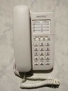 Telefone Fixo Maxtel Em Perfeitas Condições Branco