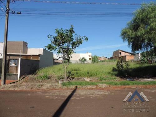 Imagem 1 de 4 de Terreno À Venda, 250 M² Por R$ 95.000,00 - Jardim Padovani - Londrina/pr - Te0515