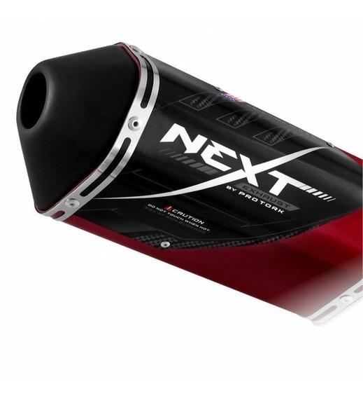 Ponteira Escape Esportivo Next Cb 250 Twister 2015 Candy Red