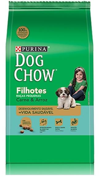 Ração Nestlé Purina Dog Chow Filhotes Carne E Arroz 15 Kg