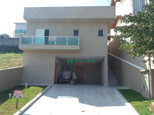 Casa Com 3 Dormitórios À Venda, 180 M² Por R$ 650.000,00 - Parque Das Rosas - Cotia/sp - Ca5951