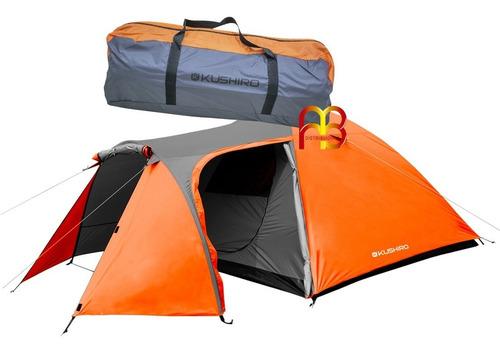 Carpa Iglú Comedor Mediana Reforzada Para 4 Personas Camping