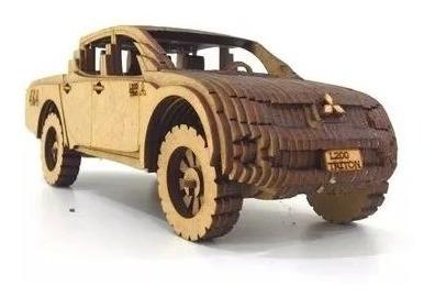 Imagem 1 de 2 de Caminhonete Carro Miniatura Triton L200 Mitsubishi Brinquedo