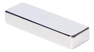 Iman Neodimio 60x20x10 Mm N52 Tipo Ficha Domino Envios