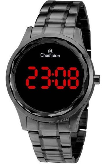 Relógio Feminino Champion Digital Ch48019d Preto