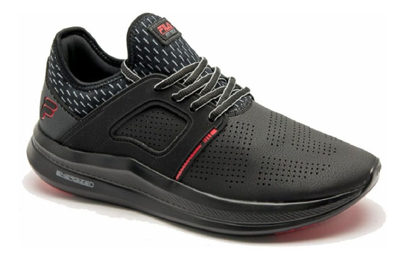 Tenis Fila Fit Tech Fitness Training Masculino Preto