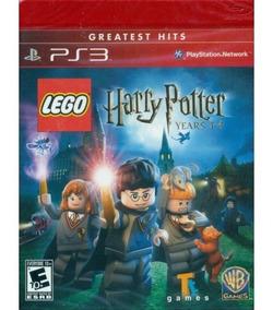 Lego Harry Potter 1-4 Midia Física Ps3