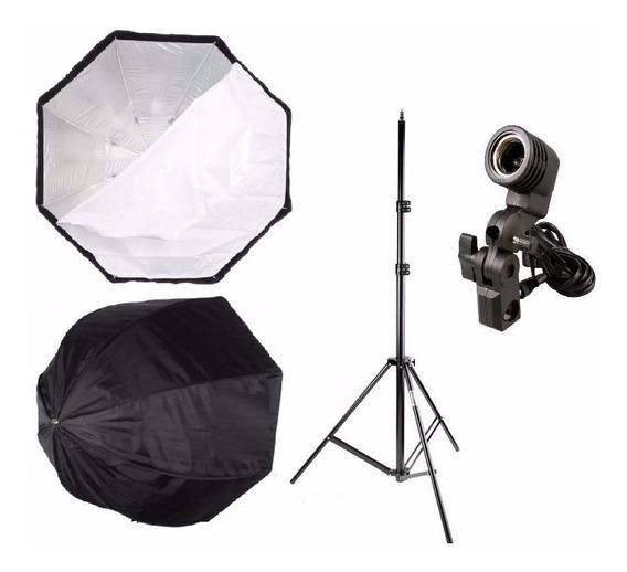 Iluminação Fotografia Filmagem Softbox Sombr Octogonal 80 Cm