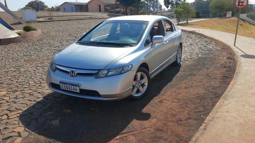 Imagem 1 de 15 de Honda Civic 2008 1.8 Lxs Flex 4p