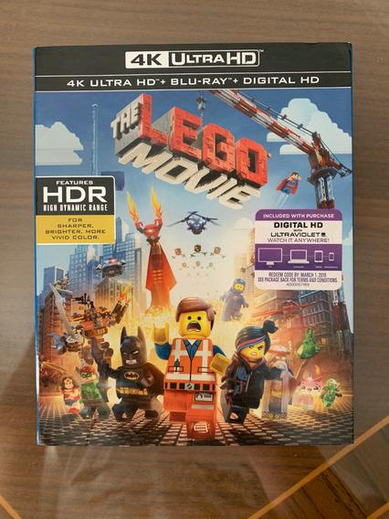 Pelicula The Lego Movie 4k Ultra Hd + Blu-ray Hd La Pelicula