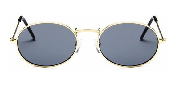 Óculos De Sol Ray Lente Oval Blogueira Tumblr Moda - Cores