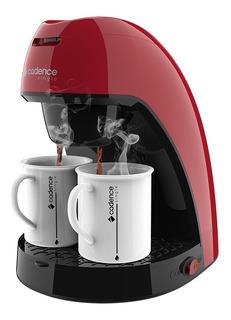 Cafeteira Elétrica 2 Xícaras Cadence Single Colors Vermelha