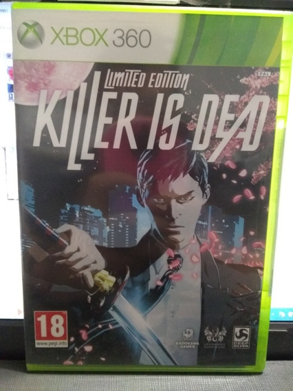 Killer Is Dead Para Xbox 360 Europeu. Jogo Original.