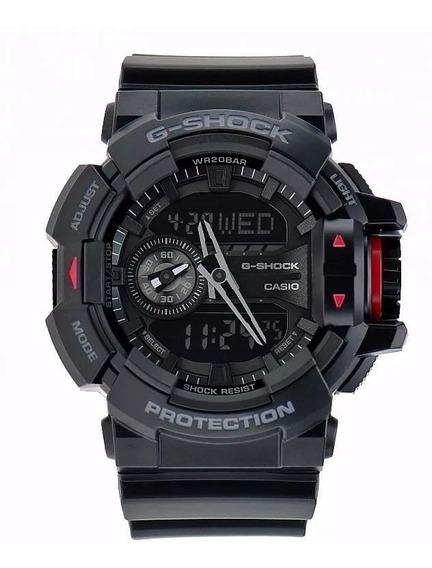 Relogio Casio G Shock Ga 400 1bdr H.mundial 5 Alarmes 200m