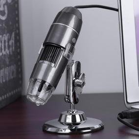 Microscópio 800x Hd Profissional Digital Usb Com Suporte.